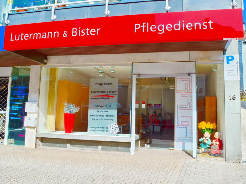 Pflegedienst in Wermelskirchen - Lutermann und Bister